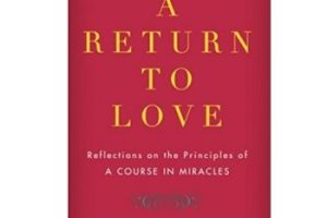 A Return To Love By Marianne Williamson Pdf Download All Reading World