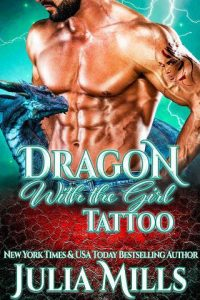 Dragon with the Girl Tattoo by Julia Mills
